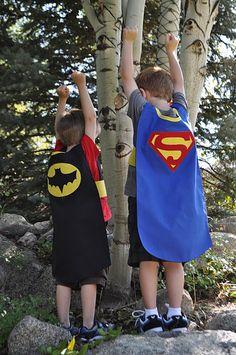 Superhero Cape Pattern