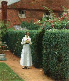 Edmund Blair Leighton (1853-1922) Le Billet