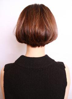 スタイリングの簡単な1カールボブ(髪型ボブ)