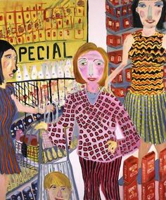 Martin Maloney never seen a cool grocery store painting...