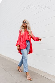 Lisa Allen From Salty Lashes On Weekly Update And Tunics For Summer Lisa Allen, Casual Outfits, Summer Outfits, Dress Up Boxes, Spring Wear, Warm Weather Outfits, Girls Camp, Street Look, Women's Fashion