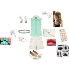 """Estilo violetta 2"" by daniellecoffone on Polyvore"