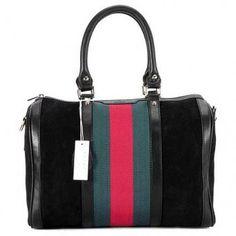 48d3fd02356a Chic Gucci Boston Bag 247205 Black  183 Gucci Handbags Outlet