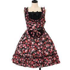 BABY, THE STARS SHINE BRIGHT ☆ ·. . · ° ☆ Royal Rose jumper skirt https://www.wunderwelt.jp/products/%EF%BD%97-14098 ☆ ·.. · ° ☆ How to order ☆ ·.. · ° ☆ http://www.wunderwelt.jp/user_data/shoppingguide-eng ☆ ·.. · ☆ Japanese Vintage Lolita clothing shop Wunderwelt ☆ ·.. · ☆