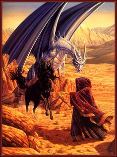 A Dragonlance painting - Larry Elmore