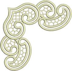 Sue Box Creations | Download Embroidery Designs | 13 - Cutwork Corner