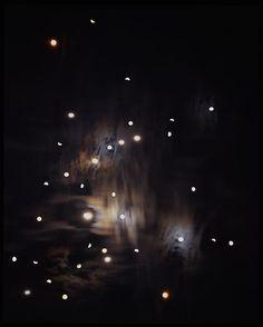 Sharon Harper   Moon Studies and Star Scratches, No 7   June - September 2004   Saratoga Springs, New York: Middlesex, Vermont; Johnson, Vermont; Eden Mills, Vermont; Greensboro, North Carolina, 2004   50 x 40 inches (127 x 101.60 cm)   Edition 2 of 5, Bridgette Mayer Gallery