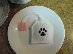 Catnip Tea Bag toys set of 4 by legendarycrochet on Etsy