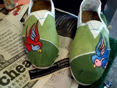 Decorated Toms <3