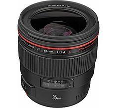 Canon EF 35mm f/1.4L USM Lens Canon prime lens 35mm really fast portrait lens 35mm 1.4 canon
