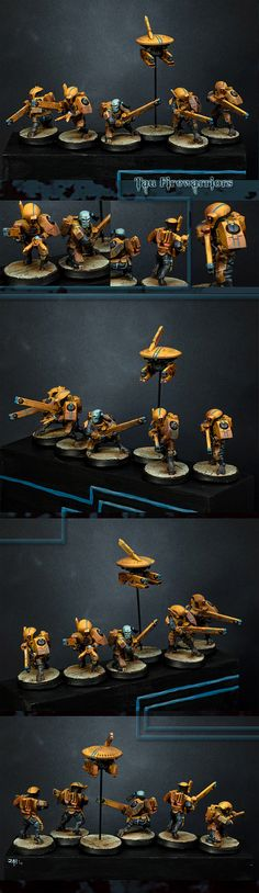 Tau Fire Warrior Squad