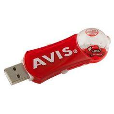 Aqua Dome USB Flash Drive - 1gb