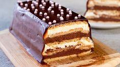 Tort de biscuiti fara coacere- un desert ușor, ce va fi apreciat la cel . Food Cakes, Macarons, Family Meals, Desert Ușor, Tiramisu, Cake Recipes, Biscuits, Bacon, Food And Drink