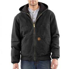 Carhartt Sandstone Flannel Lined Active Jacket  85 -- Gravel Jackets For  Big Men 99de8fdeb