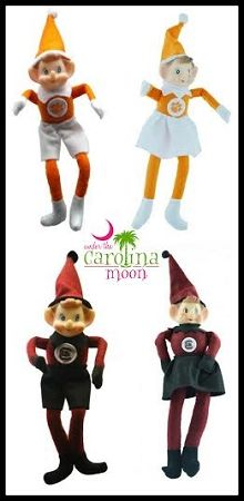 Clemson Tigers Elf #elfonshelf #underthecarolinamoon