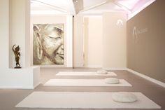 Yoga studio for the team (pictured: Yoga-Studio /GERMANY - FRANKE Architektur) More