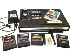 Vintage Coleco Colecovision Video Game System 5 by RetroClassics, $179.99