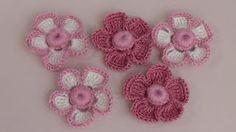 CROCHET How to Shell Stitch - Crochet Purse Handbag supersaver - Crochet Pincushion Crochet Brooch, Crochet Bracelet, Freeform Crochet, Crochet Motif, Irish Crochet, Crochet Pincushion, Crochet Flower Tutorial, Crochet Flower Patterns, Crochet Stitches Patterns