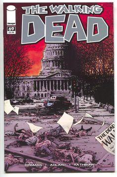 Walking Dead 69 Image 2010 NM- 1st Alexandria Washington DC 1st Print