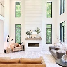 Fireplace Wall, Fireplace Design, Fireplace Mantels, Mantle, Traditional Coffee Table Sets, Scandinavian Style, Casa Loft, Great Rooms, Living Room Decor