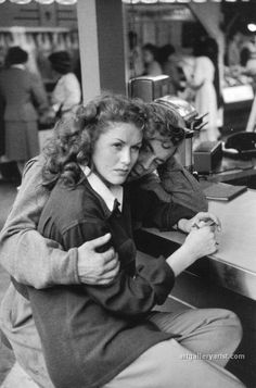 Henri Cartier Bresson--what a gorgeous moment captured