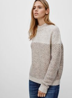 <p>A simplified Italian knit that speaks for itself</p>