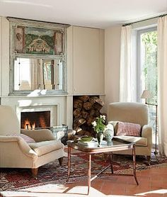Can't wait for autumn and fireplaces!