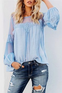 Pastel Design Western Cowgirl Chic Coral or Ivory Studs Button Down Blouse S-M-L