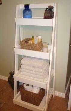 Our New Ladder Shelf | Ana White