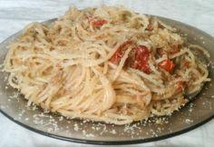 Egyszerű tonhalas spagetti