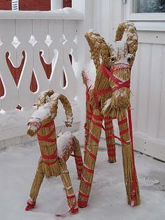 Jordgubbar med mjölk: Jul