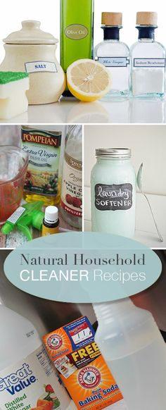 Natural Household Cleaner Recipes • Tips & Tutorials!