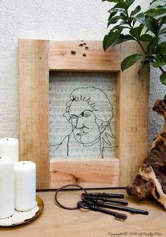 7 Tips for creating wire art. The tutorial includes a wire gauge cheat sheet and a Mozart template to work from #wireart #DIYWireArt #ACraftyMix #DIYTutorial #CraftTutorial #UniqueWallDecor #UniqueHomeDecor Unique Wall Decor, Make Your Own, How To Make, Wire Art, Art Tips, Life Is Beautiful, Diy Tutorial, Upcycle, Diy And Crafts