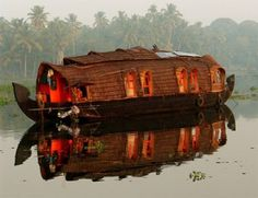Kerala houseboat!
