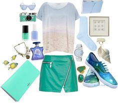 """""""I See the Sea"""" by kate-pedley on Polyvore"""