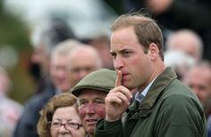 Prince William Trades Extremely Good-Looking George For Handsome Animals: Prince William attended the Anglesey Agriculture Show. : Prince William greeted a horse.