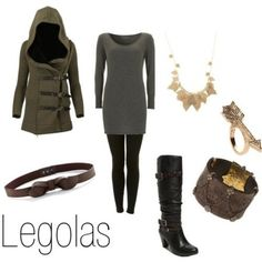 Legolas female outfit. Love everything but the pants... i think I love the jacket the most.