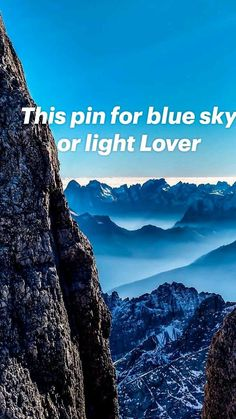 This pin for blue sky or light Lover