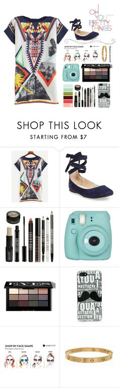 """Oh, You Pretty Things"" by bostonterrierstylez ❤ liked on Polyvore featuring WithChic, Steve Madden, Lord & Berry, Fujifilm, Bobbi Brown Cosmetics, Cartier, WALL and bostontseedscollection"