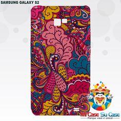 #capinhas para Samsung Galaxy S2 - Personalize sua própria capinha ou escolha dentre as milhares de estampas disponíveis em nosso site.