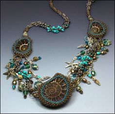 Necklace   Beki Hayley. 'Ancient Seas'.  Pinned from PinTo for iPad 