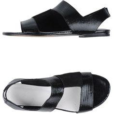 Maison Martin Margiela 22 Sandals ($225) found on Polyvore