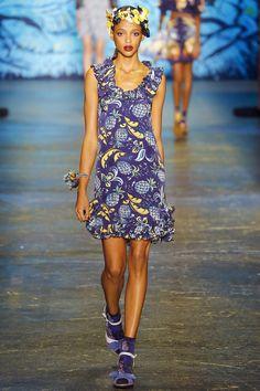 70e1c623958 Anna Sui Spring 2016 Ready-to-Wear Fashion Show