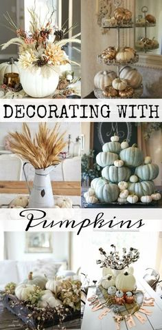 Decorating with Pumpkins - House of Hargrove