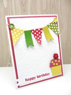 Stampin' Up! Birthday Card  by Norma at PinkBlingCrafter