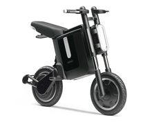 Foldable electric bike concept from Yamaha... would be awesome in the city.