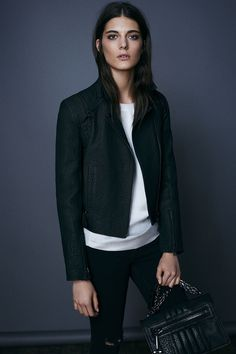 "ALLSAINTS: I love this brand and this look, but the pieces aren't scaled for my 5'2"", curvy self. (at least in my mind)"