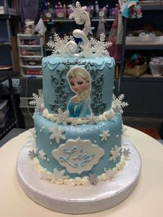 21 Best Frozen Cakes Images Frozen Cake Frozen Cake