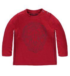 Tumble 'n Dry t-shirt model Paolo. Dit shirt is voorzien van een print aan de voorzijde en heeft lange mouwen en een ronde hals.