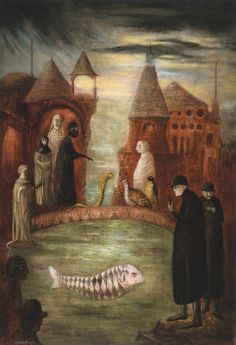 Leonora Carrington, also a great author, my favorite artists bests friend.